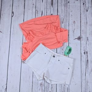 2🎈$15 Perfectly White spring shorts